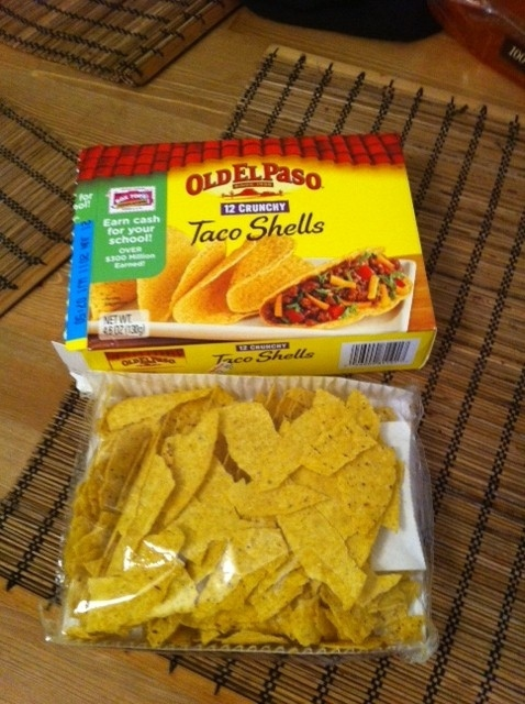 Be happy that these are not your taco shells.