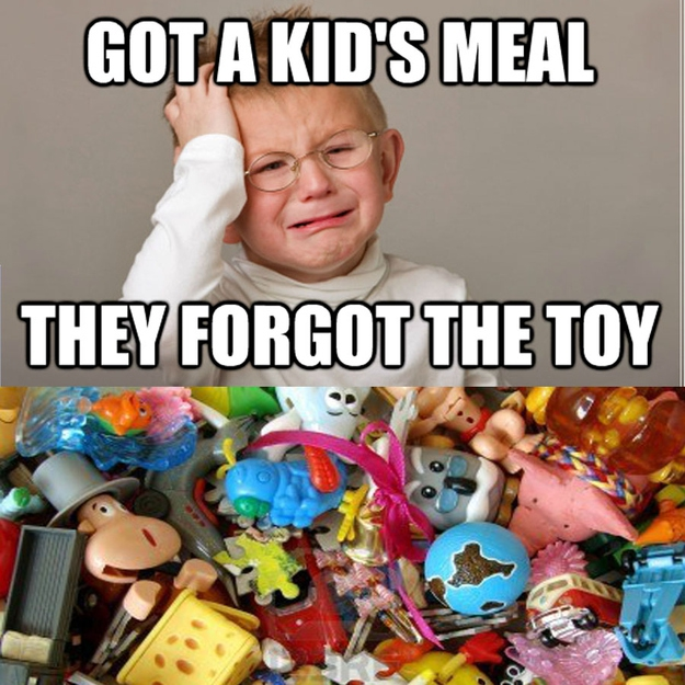 First World Kid Problems