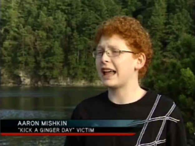 victimized ginger