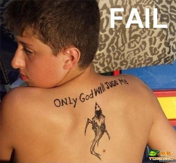 Tattoo FAILS от Veggie за 12 oct 2012