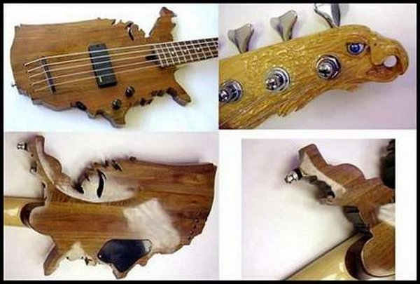 Weirdest guitars ever built