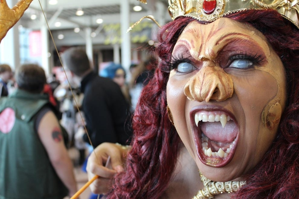 The Craziest Eyes At New York Comic Con