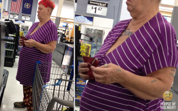 What Happens in Walmart Should Stay in Walmart.
