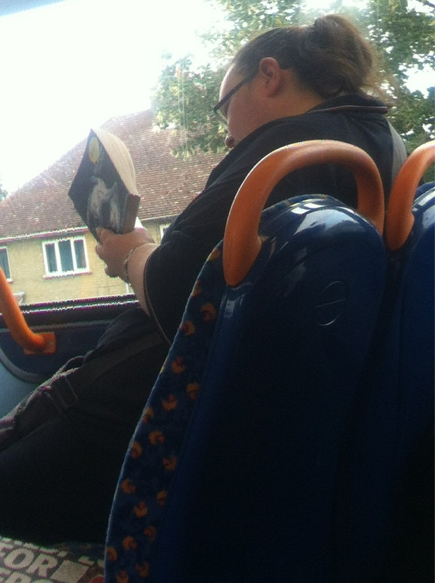 "People Caught Reading ""Fifty Shades Of Grey"" In Public"