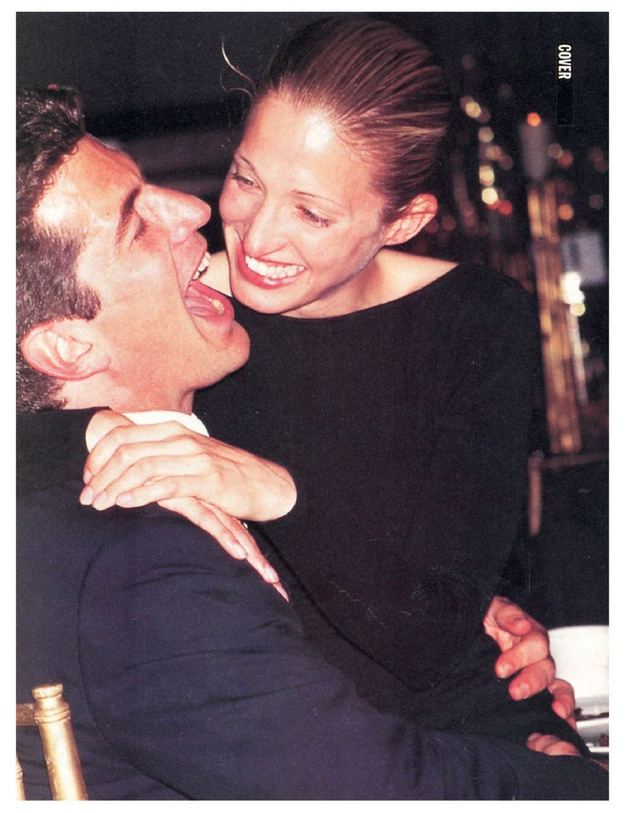 John F. Kennedy, Jr. and Carolyn Bessette