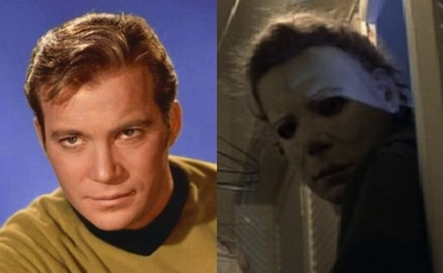 The mask in 'Halloween' is actually William Shatner's face.