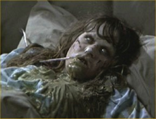 The barf used in 'The Exorcist' was actually Andersen's Pea Soup.
