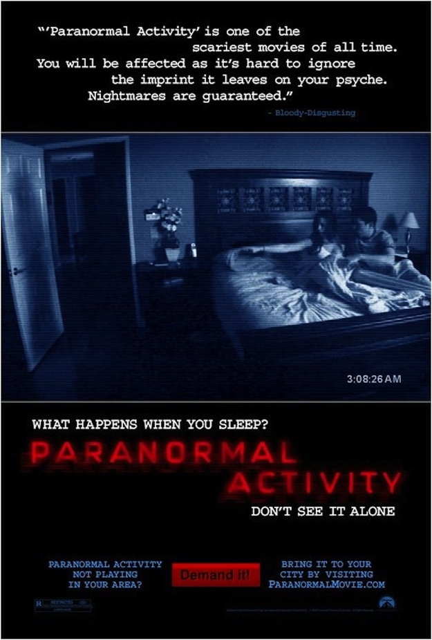 'Paranormal Activity' was Oren Peli's directorial debut.