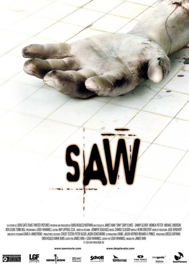 'Saw' was filmed in only 18 days.