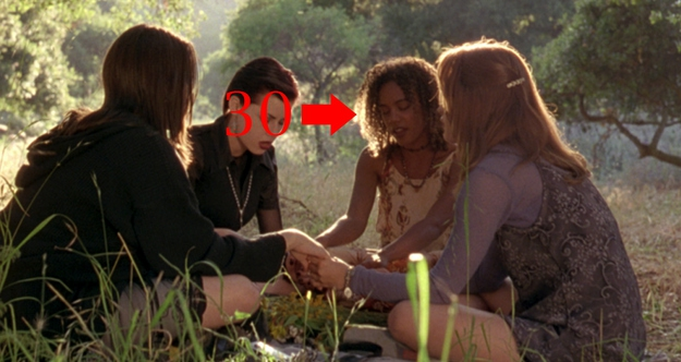 Rachel True was almost 30 in 'The Craft.' She played a high schooler.