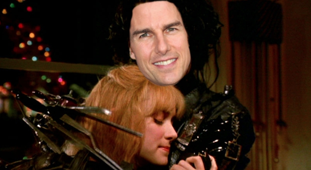 Tom Cruise was offered the role of Edward Scissorhands.