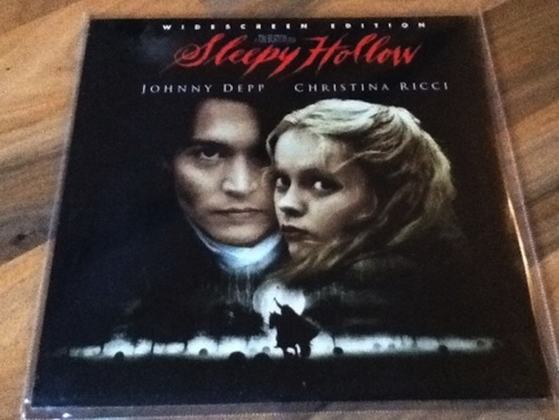 'Sleepy Hollow' and 'Bringing Out The Dead' were the last two movies ever to be put on LaserDisc.