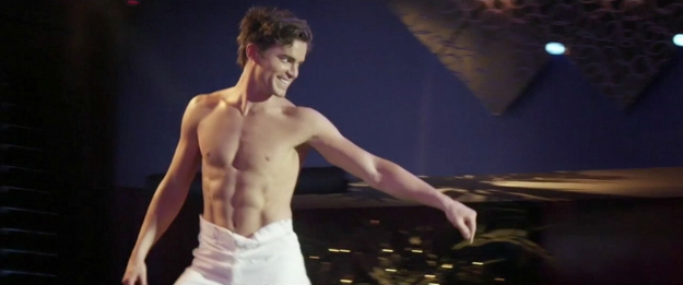 "Matt Bomer's Deleted ""Magic Mike"" Striptease от Veggie за 16 oct 2012"