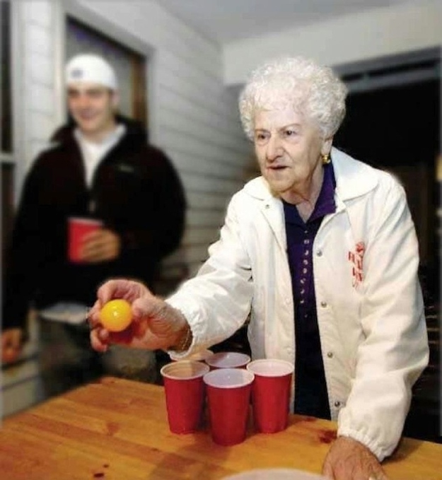 Old People Who Are Young At Heart
