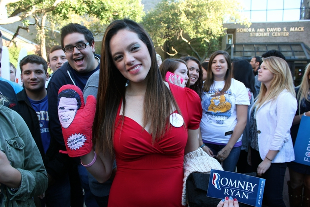 25 College Republicans Describe Democrats In Three Words от Veggie за 16 oct 2012