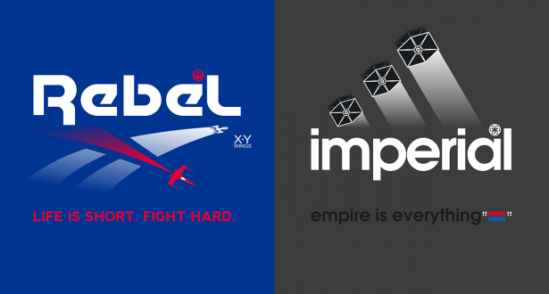 If Star Wars made Corporate Logos.  от Veggie за 17 oct 2012