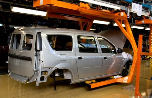 How Cars are Made in AutoVAZ in Russia