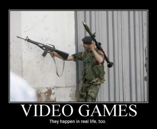 Funny Video Game Photos