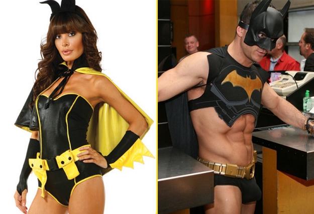 Erotic batman costume