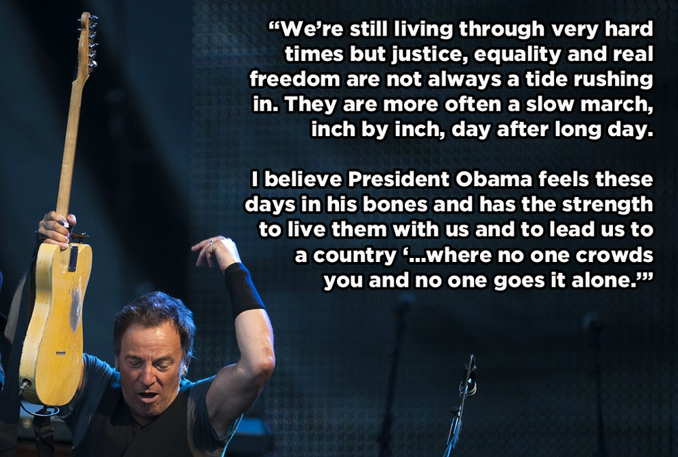 Springsteen for Obama! от Kaye за 18 oct 2012