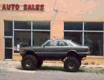 When Rednecks Make Cars...