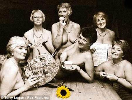 Grandmothers Pose Naked For Charity