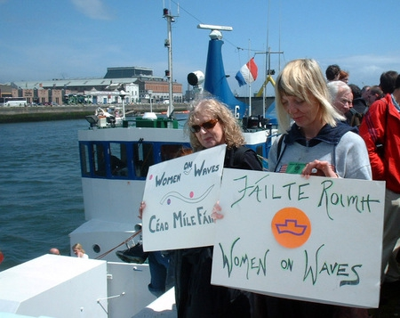 """Women On Waves"" Charter An Abortion Ship"