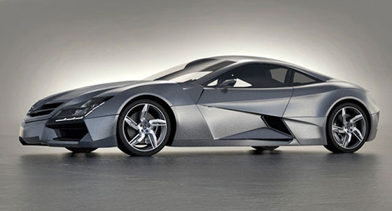 Mercedez-Benz SF1 Concept