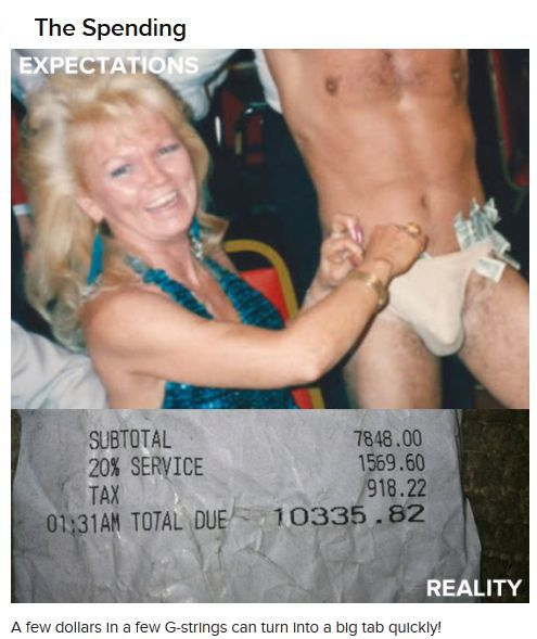 Expectations VS Reality: The Male Strip Club от Helen за 22 oct 2012