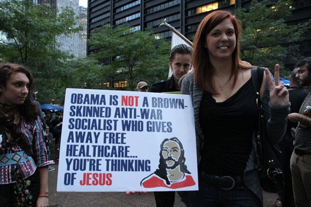 Check out these funny protest signs. от mick за 22 oct 2012