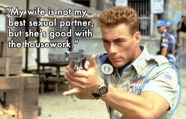 Clever Quotes from Jean-Claude Van Damme