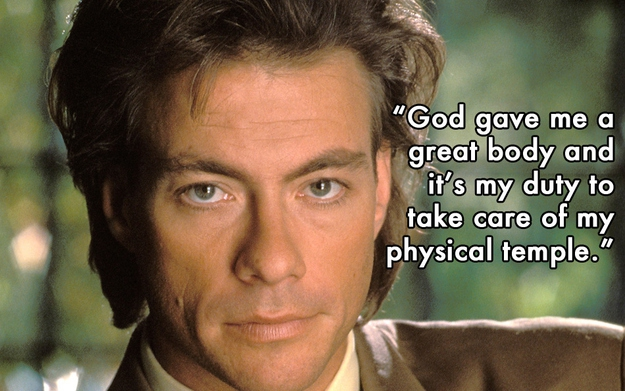 Clever Quotes from Jean-Claude Van Damme  от Veggie за 22 oct 2012
