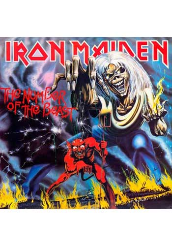 Number of the Beast - Iron Maiden