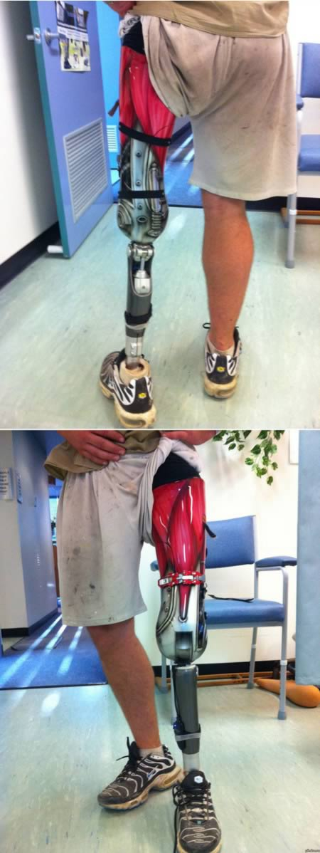 Can you believe these are prosthetics?