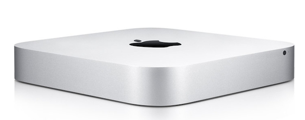 Last, and definitely least, is the new Mac Mini