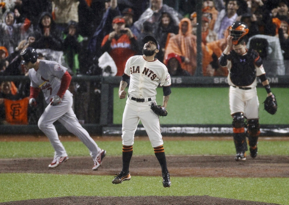 THE GIANTS ARE GOING TO THE WORLD SERIES! AGAIN!