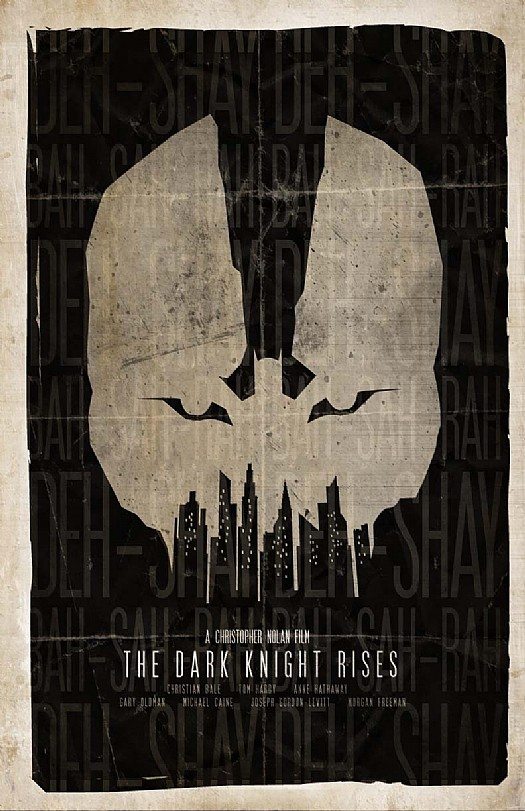 Alternative Dark Knight Rises Posters