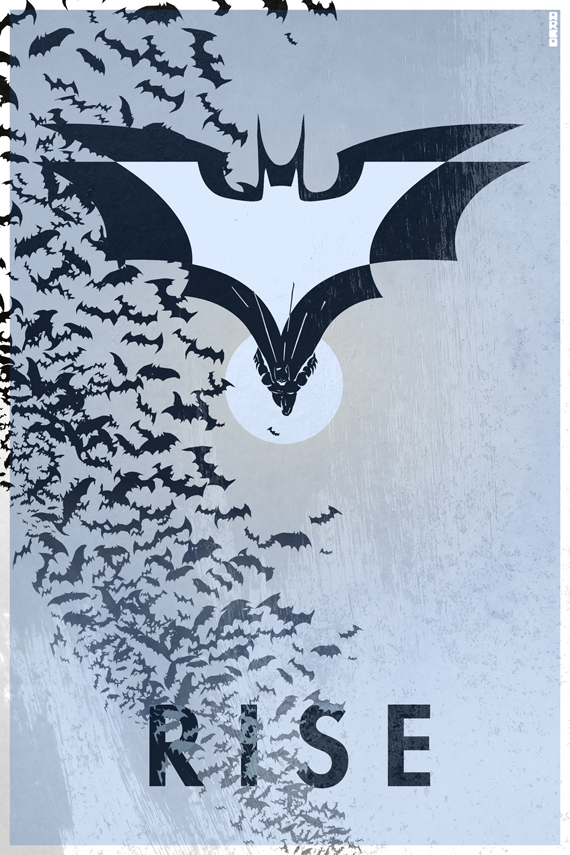 Alternative Dark Knight Rises Posters  от Veggie за 23 oct 2012