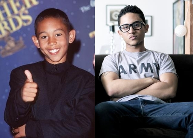 Tahj Mowry from