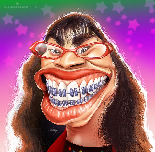 Funny Celebrity Caricatures от mick за 25 oct 2012