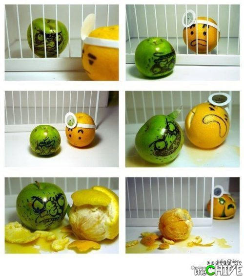 Play with your food! It makes art! от Veggie за 26 oct 2012