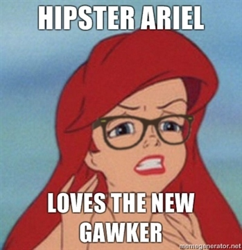 My Favorite Hipster Mermaid от mick за 26 oct 2012