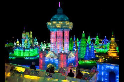 Harbin China's ice city is amazing