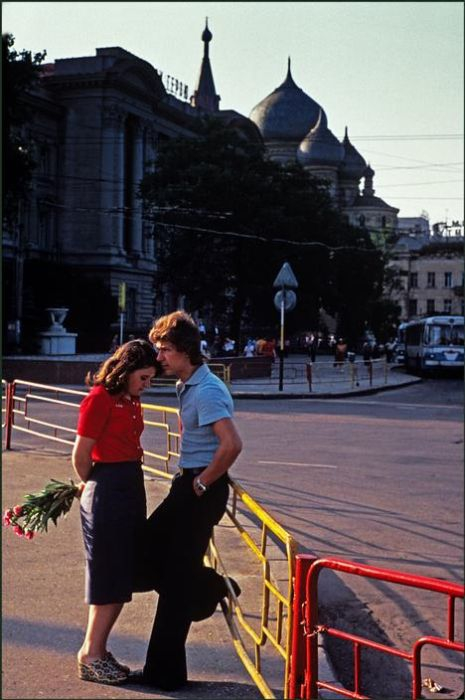 Foreigners in Soviet Odessa of 70-80s