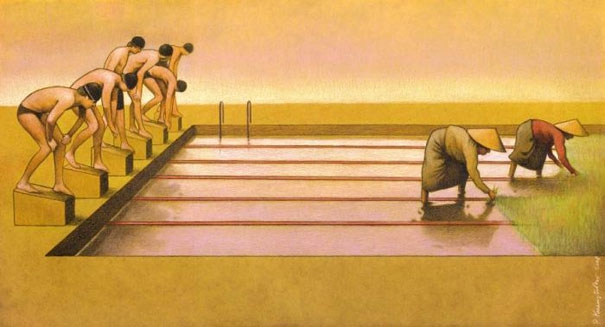 The Satirical Illustrations of Pawel Kuczynski  от mick за 30 oct 2012