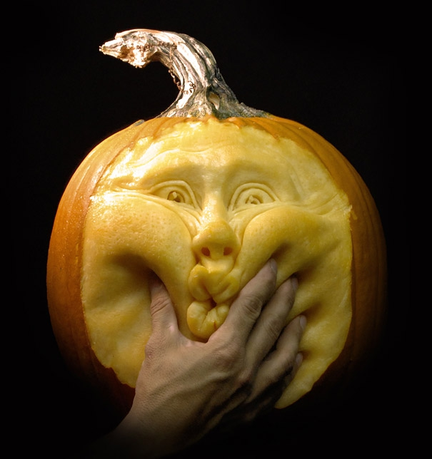 Amazing Pumpkin Carvings by Ray Villafane