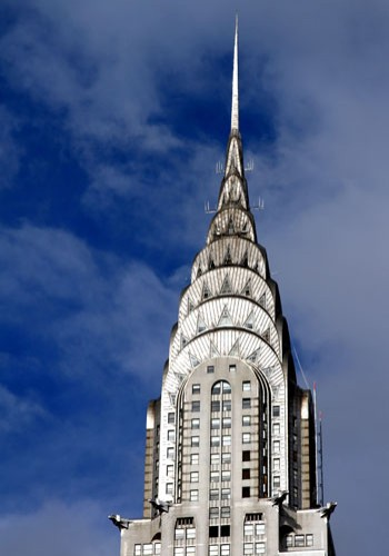 CHRYSLER BUILDING, NEW YORK, US. WILLIAM VAN ALEN, 1930