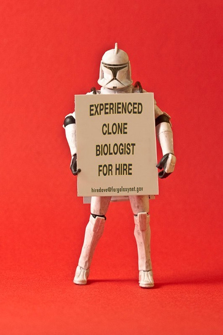 Star Wars Characters Face The Recession