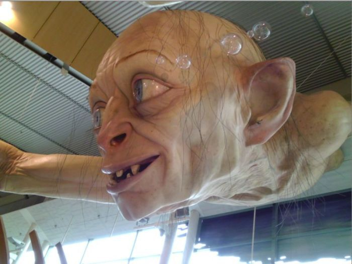 Giant Gollum from Lord of the Rings