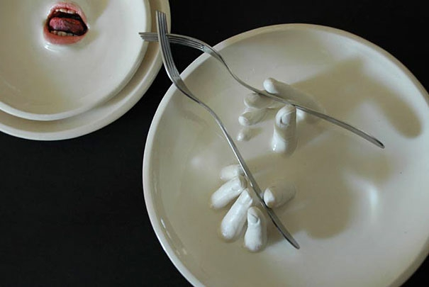 Ronit Baranga's Distinctive Tableware
